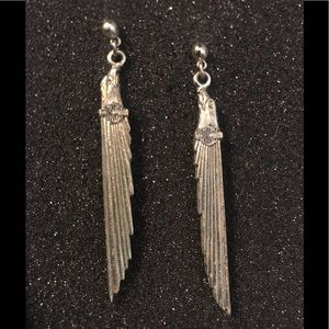Vintage Harley Davidson earrings